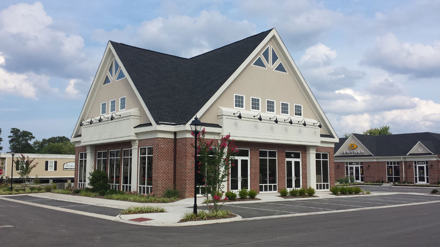 Commercial Building R A Woodall Roofing Contractor